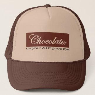 チョコレート-あなたのA1Cにさようなら接吻して下さい キャップ