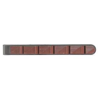 チョコレート ガンメタル ネクタイピン
