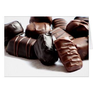 チョコレート・キャンディの挨拶状#1 11100 カード