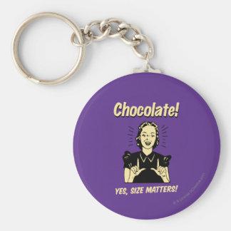 チョコレート: サイズの問題 キーホルダー