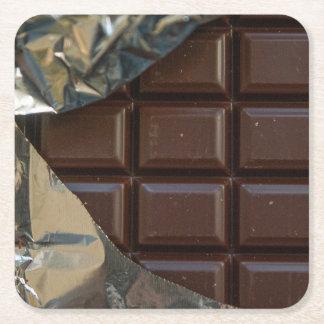 チョコレート・バーのコースター スクエアペーパーコースター