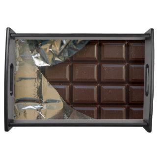 チョコレート・バーの小さいトレイ トレー