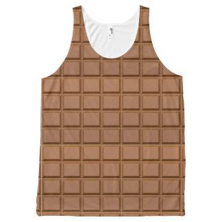 チョコレート・バー オールオーバープリントタンクトップ
