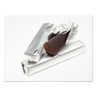 チョコレート・バー フォトプリント