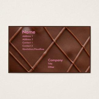 チョコレート・バー 名刺