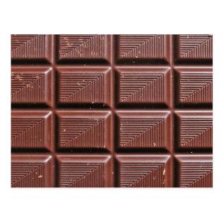 チョコレート ポストカード