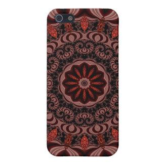 チョコレート、ラズベリー、ペパーミントの棒の抽象芸術 iPhone 5 COVER
