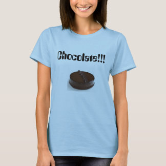 チョコレート!!! Tシャツ