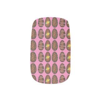 チョコレートButtercreamイースターエッグキャンデーのネイルのデカール ネイルアート