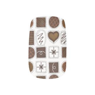 チョコレートChocoholicのグルメのバレンタインのネイルの箱 ネイルアート