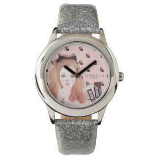 チョコレートJennieのグリッターの腕時計 腕時計