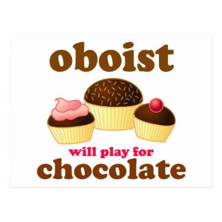 チョコレートOboeのおもしろいな郵便はがき ポストカード