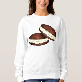 チョコレートPAのオランダのWhoopieパイパイスエットシャツ スウェットシャツ