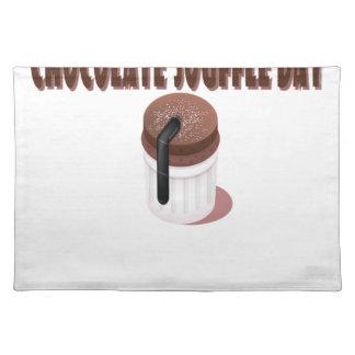 チョコレートSoufflé日-感謝日 ランチョンマット