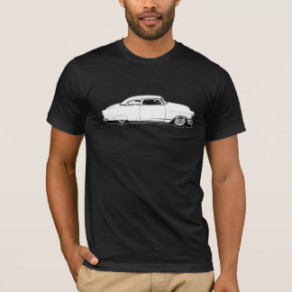 チョップの上のChevyの白黒グラフィック Tシャツ