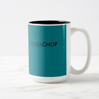 \ =チョップ ツートーンマグカップ