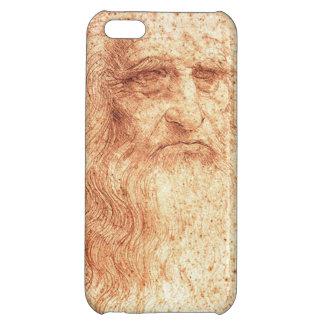 チョークのレオナルド・ダ・ヴィンチの赤い自画像 iPhone 5C CASE