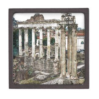 チョークのローマのフォーラム ギフトボックス