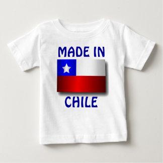 チリで作られる ベビーTシャツ