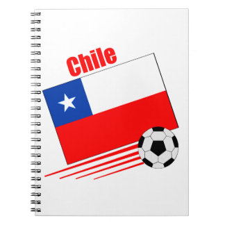 チリのサッカーチーム ノートブック