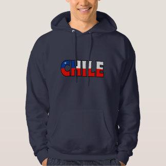 チリのフード付きスウェットシャツ パーカ