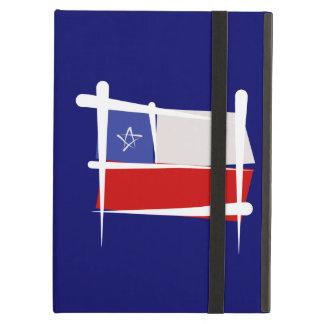 チリのブラシの旗 iPad AIRケース