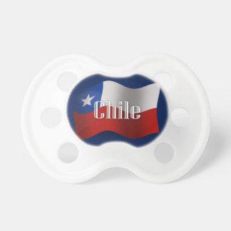 チリの振る旗 おしゃぶり