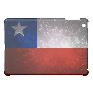 チリの旗の花火 iPad MINIカバー