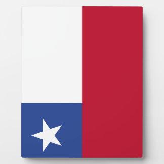 チリの旗 フォトプラーク