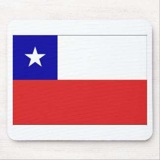 チリの旗 マウスパッド