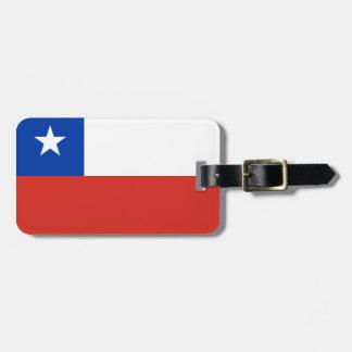 チリの旗 ラゲッジタグ