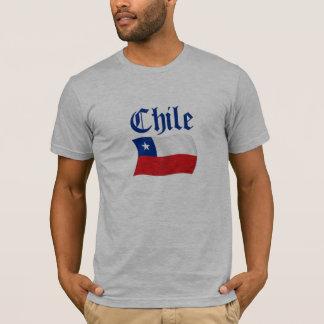 チリの旗 Tシャツ