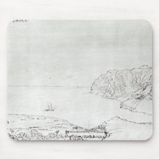 チリの沖の海岸の眺め マウスパッド