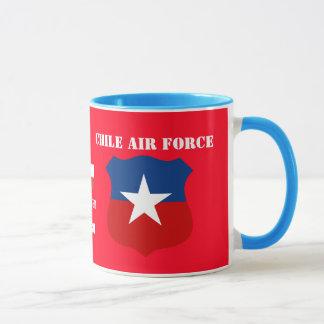 チリの空軍コーヒー・マグ マグカップ
