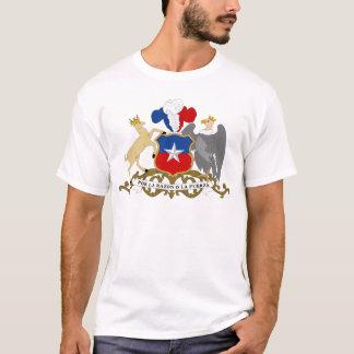 チリの紋章付き外衣 Tシャツ