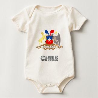 チリの紋章 ベビーボディスーツ