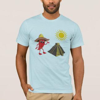 チリペッパーのピラミッド Tシャツ