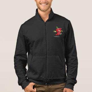 チリペッパーの呼吸の火メンズジャケット ジャケット