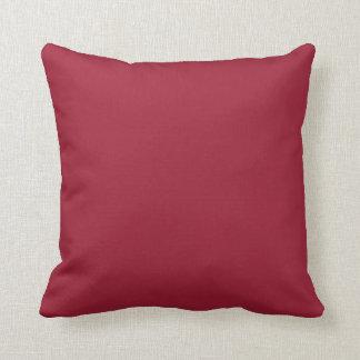チリペッパーの(赤い)色 クッション