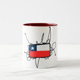 チリ ツートーンマグカップ