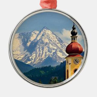 チロル、オーストリア メタルオーナメント