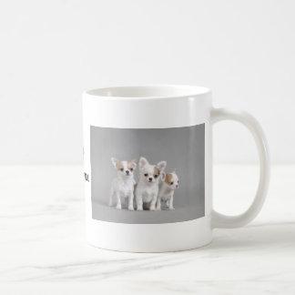 チワワの子犬 コーヒーマグカップ