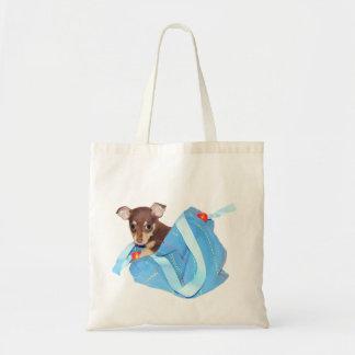 チワワの子犬 トートバッグ