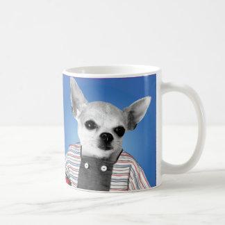チワワの男の子のマグ コーヒーマグカップ