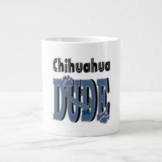 チワワの男 ジャンボコーヒーマグカップ