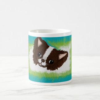 チワワの絵画のマグ コーヒーマグカップ
