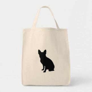 チワワの買い物袋 トートバッグ