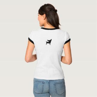 チワワペット親救助のお母さん Tシャツ