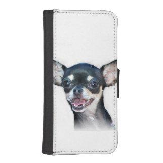 チワワ犬 iPhoneSE/5/5sウォレットケース