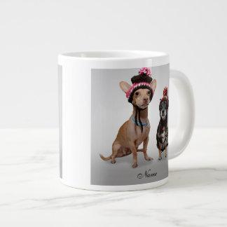 チワワ ジャンボコーヒーマグカップ